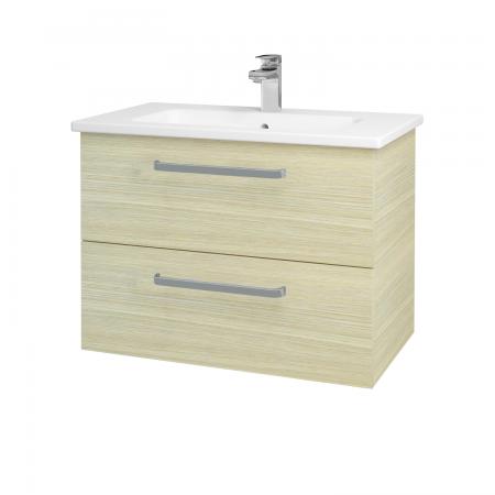 Dreja - Kúpeľňová skriňa GIO SZZ2 80 - D04 Dub / Úchytka T01 / D04 Dub (82041A)