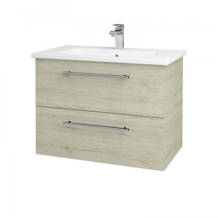 Dreja - Kúpeľňová skriňa GIO SZZ2 80 - D05 Oregon / Úchytka T02 / D05 Oregon (82065B)