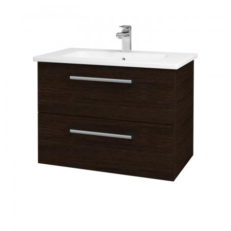 Dreja - Kúpeľňová skriňa GIO SZZ2 80 - D08 Wenge / Úchytka T03 / D08 Wenge (82089C)