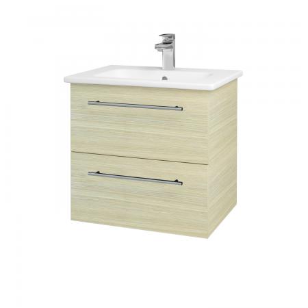 Dreja - Kúpeľňová skriňa GIO SZZ2 60 - D04 Dub / Úchytka T02 / D04 Dub (82881B)