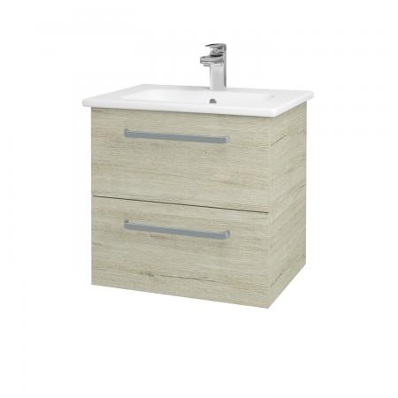 Dreja - Kúpeľňová skriňa GIO SZZ2 60 - D05 Oregon / Úchytka T01 / D05 Oregon (82904A)