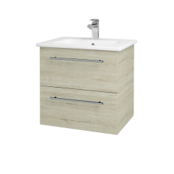 Dreja - Kúpeľňová skriňa GIO SZZ2 60 - D05 Oregon / Úchytka T02 / D05 Oregon (82904B)