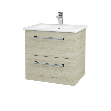 Dreja - Kúpeľňová skriňa GIO SZZ2 60 - D05 Oregon / Úchytka T03 / D05 Oregon (82904C)