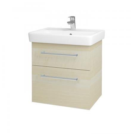 Dreja - Kúpeľňová skriňa Q MAX SZZ2 60 - D02 Bříza / Úchytka T03 / D02 Bříza (60285C)