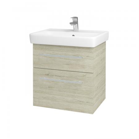 Dreja - Kúpeľňová skriňa Q MAX SZZ2 60 - D05 Oregon / Úchytka T02 / D05 Oregon (61312B)