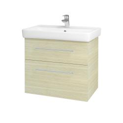 Dreja - Kúpeľňová skriňa Q MAX SZZ2 70 - D04 Dub / Úchytka T02 / D04 Dub (60407B)