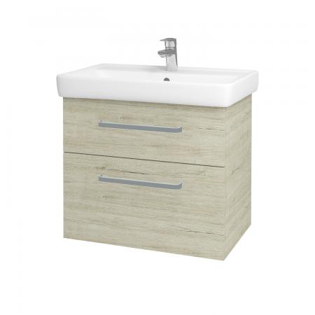 Dreja - Kúpeľňová skriňa Q MAX SZZ2 70 - D05 Oregon / Úchytka T01 / D05 Oregon (61329A)