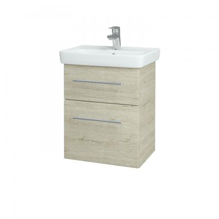 Dreja - Kúpeľňová skriňa GO SZZ2 50 - D05 Oregon / Úchytka T02 / D05 Oregon (28124B)