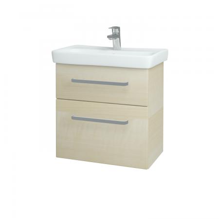 Dreja - Kúpeľňová skriňa GO SZZ2 60 - D02 Bříza / Úchytka T01 / D02 Bříza (28179A)