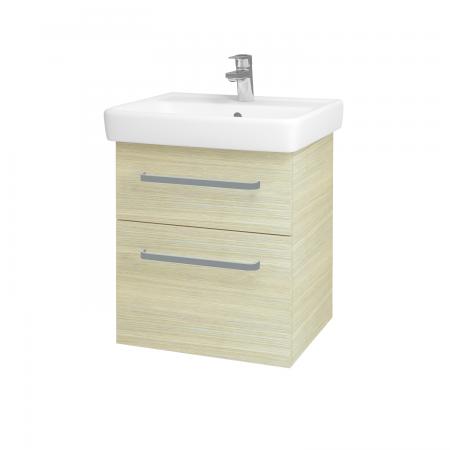 Dreja - Kúpeľňová skriňa Q MAX SZZ2 55 - D04 Dub / Úchytka T01 / D04 Dub (61282A)