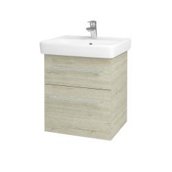 Dreja - Kúpeľňová skriňa Q MAX SZZ2 55 - D05 Oregon / Úchytka T02 / D05 Oregon (61305B)