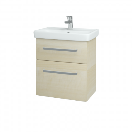 Dreja - Kúpeľňová skriňa GO SZZ2 55 - D02 Bříza / Úchytka T01 / D02 Bříza (28162A)