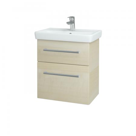 Dreja - Kúpeľňová skriňa GO SZZ2 55 - D02 Bříza / Úchytka T03 / D02 Bříza (28162C)