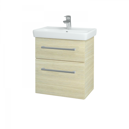 Dreja - Kúpeľňová skriňa GO SZZ2 55 - D04 Dub / Úchytka T03 / D04 Dub (28100C)