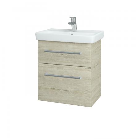 Dreja - Kúpeľňová skriňa GO SZZ2 55 - D05 Oregon / Úchytka T03 / D05 Oregon (28131C)