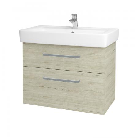 Dreja - Kúpeľňová skriňa Q MAX SZZ2 80 - D05 Oregon / Úchytka T01 / D05 Oregon (61336A)