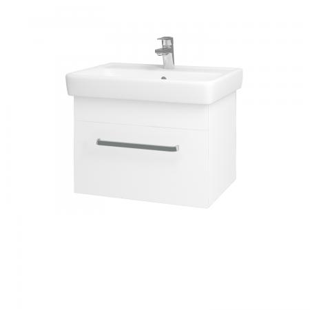 Dreja - Kúpeľňová skriňa Q UNO SZZ 60 - N01 Bílá lesk / Úchytka T01 / L01 Bílá vysoký lesk (20012A)