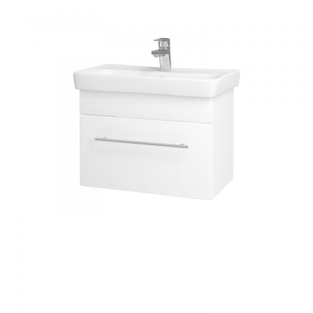Dreja - Kúpeľňová skriňa SOLO SZZ 60 - N01 Bílá lesk / Úchytka T02 / L01 Bílá vysoký lesk (21835B)
