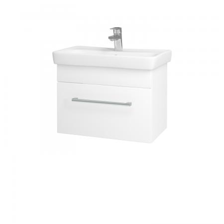 Dreja - Kúpeľňová skriňa SOLO SZZ 60 - N01 Bílá lesk / Úchytka T03 / L01 Bílá vysoký lesk (21835C)