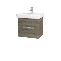 Dreja - Kúpeľňová skriňa SOLO SZZ 50 - D03 Cafe / Úchytka T01 / D03 Cafe (21217A)