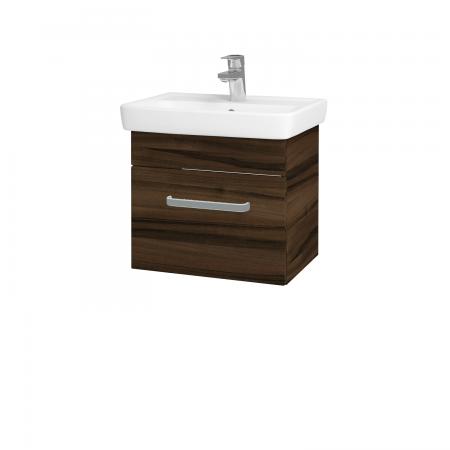 Dreja - Kúpeľňová skriňa SOLO SZZ 50 - D06 Ořech / Úchytka T01 / D06 Ořech (21248A)