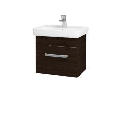 Dreja - Kúpeľňová skriňa SOLO SZZ 50 - D08 Wenge / Úchytka T01 / D08 Wenge (21262A)