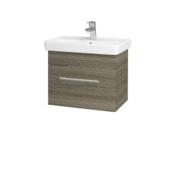 Dreja - Kúpeľňová skriňa SOLO SZZ 55 - D03 Cafe / Úchytka T02 / D03 Cafe (21279B)