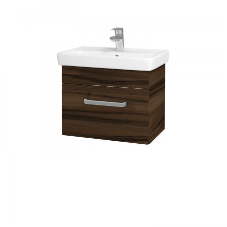 Dreja - Kúpeľňová skriňa SOLO SZZ 55 - D06 Ořech / Úchytka T01 / D06 Ořech (21361A)