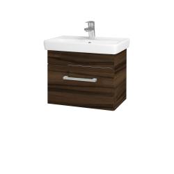 Dreja - Kúpeľňová skriňa SOLO SZZ 55 - D06 Ořech / Úchytka T03 / D06 Ořech (21361C)