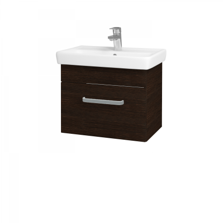 Dreja - Kúpeľňová skriňa SOLO SZZ 55 - D08 Wenge / Úchytka T01 / D08 Wenge (21408A)