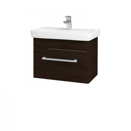 Dreja - Kúpeľňová skriňa SOLO SZZ 60 - D08 Wenge / Úchytka T03 / D08 Wenge (22160C)
