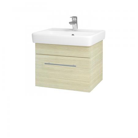 Dreja - Kúpeľňová skriňa Q UNO SZZ 55 - D04 Dub / Úchytka T02 / D04 Dub (28223B)