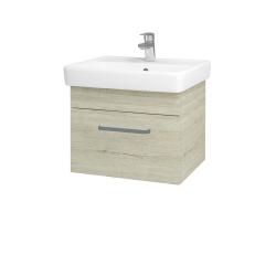Dreja - Kúpeľňová skriňa Q UNO SZZ 55 - D05 Oregon / Úchytka T01 / D05 Oregon (28230A)