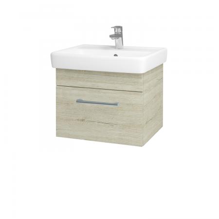 Dreja - Kúpeľňová skriňa Q UNO SZZ 55 - D05 Oregon / Úchytka T03 / D05 Oregon (28230C)