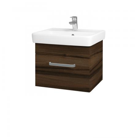 Dreja - Kúpeľňová skriňa Q UNO SZZ 55 - D06 Ořech / Úchytka T01 / D06 Ořech (28247A)