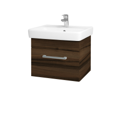 Dreja - Kúpeľňová skriňa Q UNO SZZ 55 - D06 Ořech / Úchytka T03 / D06 Ořech (28247C)