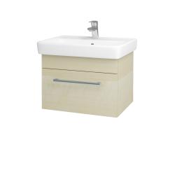 Dreja - Kúpeľňová skriňa Q UNO SZZ 60 - D02 Bříza / Úchytka T03 / D02 Bříza (28384C)