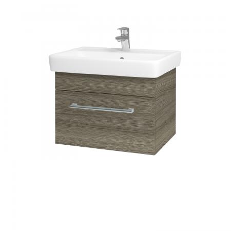 Dreja - Kúpeľňová skriňa Q UNO SZZ 60 - D03 Cafe / Úchytka T03 / D03 Cafe (28346C)