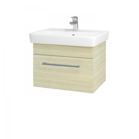 Dreja - Kúpeľňová skriňa Q UNO SZZ 60 - D04 Dub / Úchytka T03 / D04 Dub (28353C)