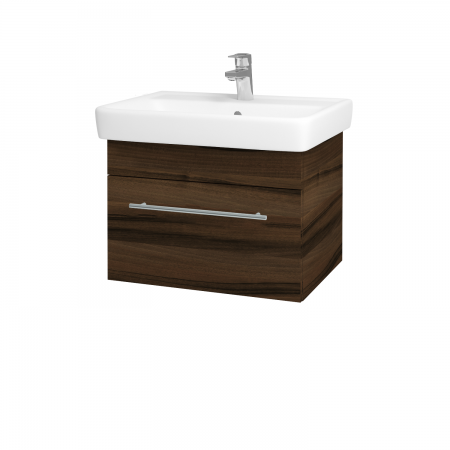 Dreja - Kúpeľňová skriňa Q UNO SZZ 60 - D06 Ořech / Úchytka T02 / D06 Ořech (28377B)