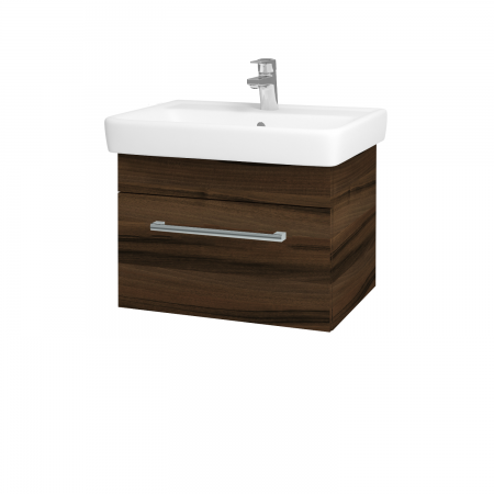 Dreja - Kúpeľňová skriňa Q UNO SZZ 60 - D06 Ořech / Úchytka T03 / D06 Ořech (28377C)