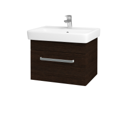 Dreja - Kúpeľňová skriňa Q UNO SZZ 60 - D08 Wenge / Úchytka T01 / D08 Wenge (28391A)