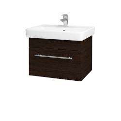 Dreja - Kúpeľňová skriňa Q UNO SZZ 60 - D08 Wenge / Úchytka T02 / D08 Wenge (28391B)