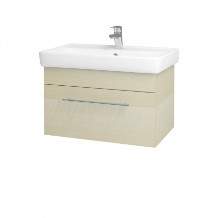 Dreja - Kúpeľňová skriňa Q UNO SZZ 70 - D02 Bříza / Úchytka T02 / D02 Bříza (28445B)