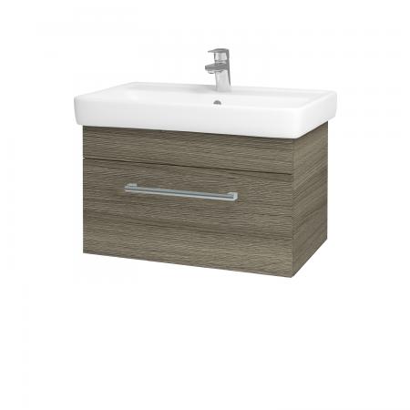 Dreja - Kúpeľňová skriňa Q UNO SZZ 70 - D03 Cafe / Úchytka T03 / D03 Cafe (28407C)
