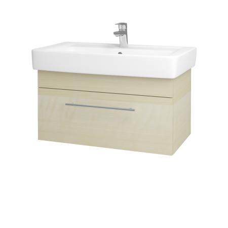 Dreja - Kúpeľňová skriňa Q UNO SZZ 80 - D02 Bříza / Úchytka T02 / D02 Bříza (28506B)
