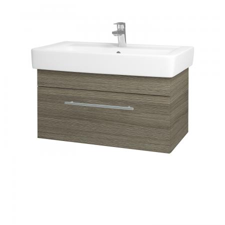 Dreja - Kúpeľňová skriňa Q UNO SZZ 80 - D03 Cafe / Úchytka T02 / D03 Cafe (28469B)