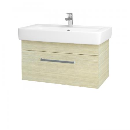 Dreja - Kúpeľňová skriňa Q UNO SZZ 80 - D04 Dub / Úchytka T01 / D04 Dub (28476A)