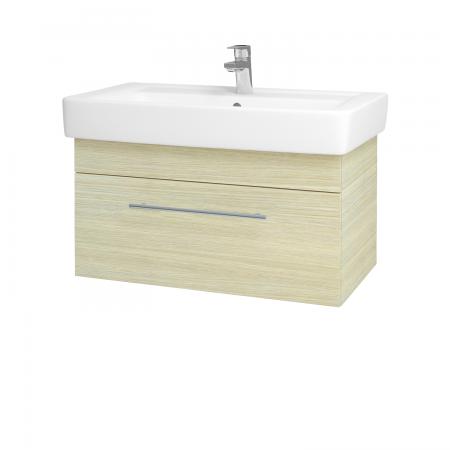 Dreja - Kúpeľňová skriňa Q UNO SZZ 80 - D04 Dub / Úchytka T02 / D04 Dub (28476B)
