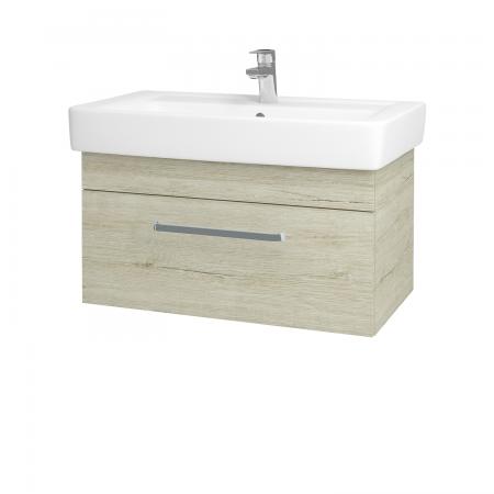 Dreja - Kúpeľňová skriňa Q UNO SZZ 80 - D05 Oregon / Úchytka T01 / D05 Oregon (28483A)
